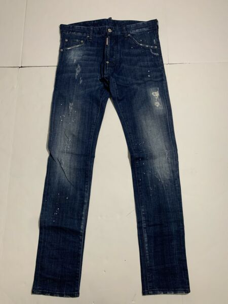 Dsquared2 Jeans Blue Size EU46 US30 Cool Guy $99.00