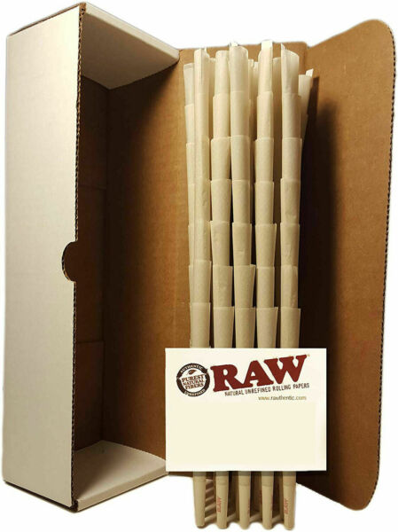 RAW Classic 98 special Size Pre Rolled Cones 100 Pack $16.98