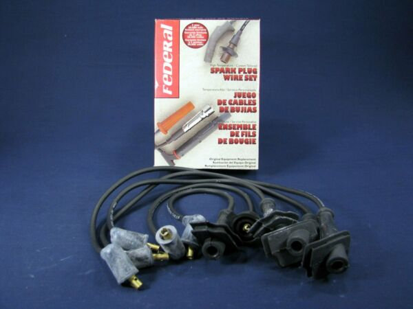Federal Parts 4715 Spark Plug Wire Set for 88 89 Prelude 2.0 S SI Coupe 4WS I4