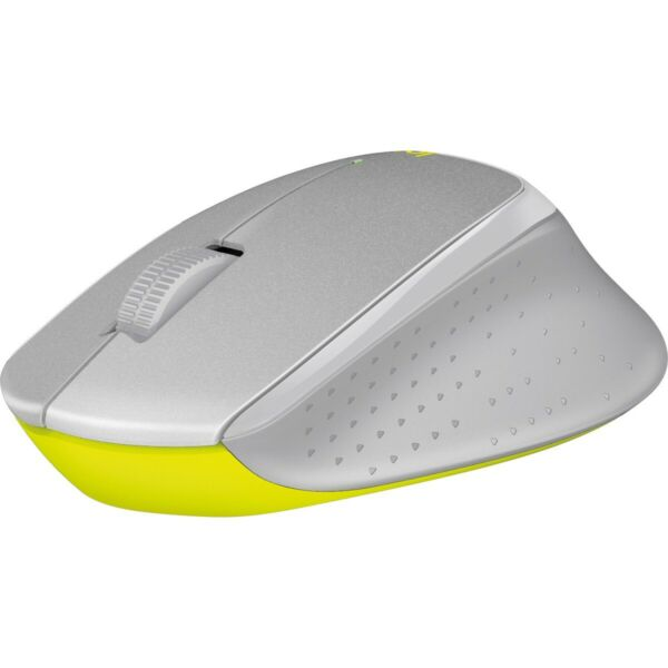 Logitech M330 Silent Plus Wireless Large Mouse Silver Yellow NO RECEIVER ... $8.99
