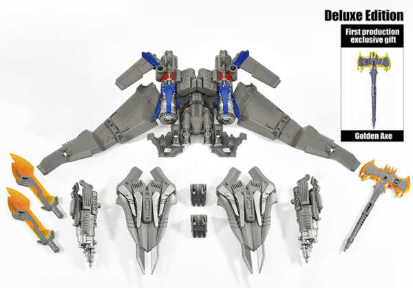 DNA Design DK 15 Studio Series Optimus Prime Deluxe Upgrade Kit Jetfire Power