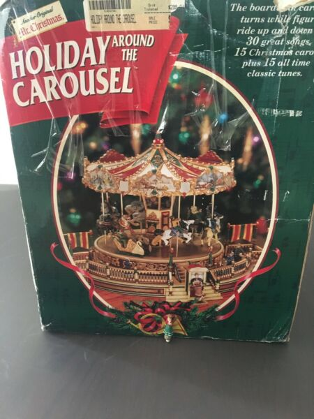 10330 Mr Christmas Holiday Around The Carousel Replacement Piece