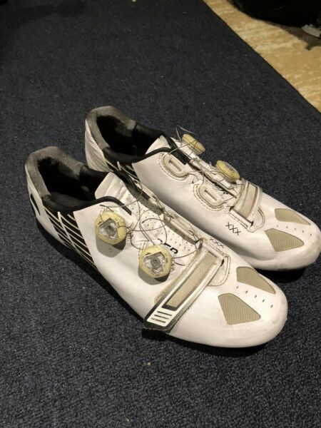 Bontrager XXX Road Cycling Shoes Size 41 White $60.00