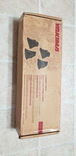 Yakima Q Towers Set of 4 Roof Rack System Towers # 00124 new open box $110.00
