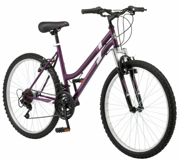 26 inch Roadmaster 18 speed Bicycle Granite Peak Women#x27;s Mountain Bike Purple $124.98