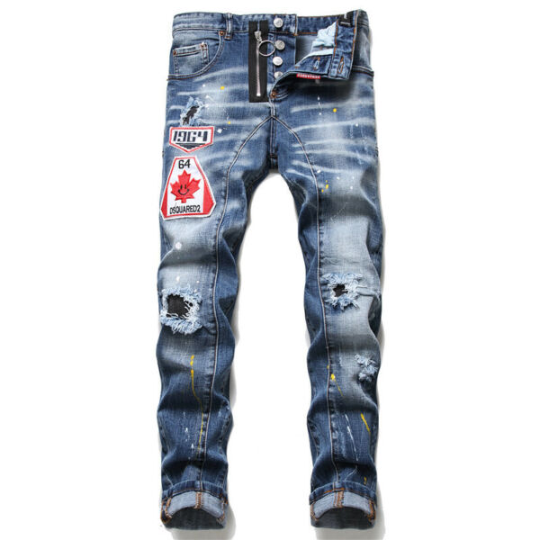 new Dsquared2 special stitching zipper decoration fashionable men#x27;s all match $45.89