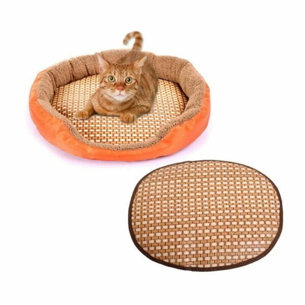 Dog Beds Winter Warm Sleeping Cushion Mat Cats Pet Training Bed Comfy Breathable $7.49