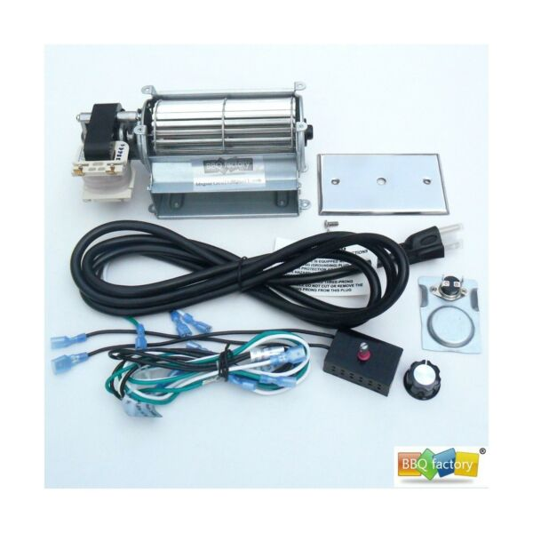 bbq factory GFK21 FK21 Replacement Fireplace Blower Fan KIT for Heatilator ...