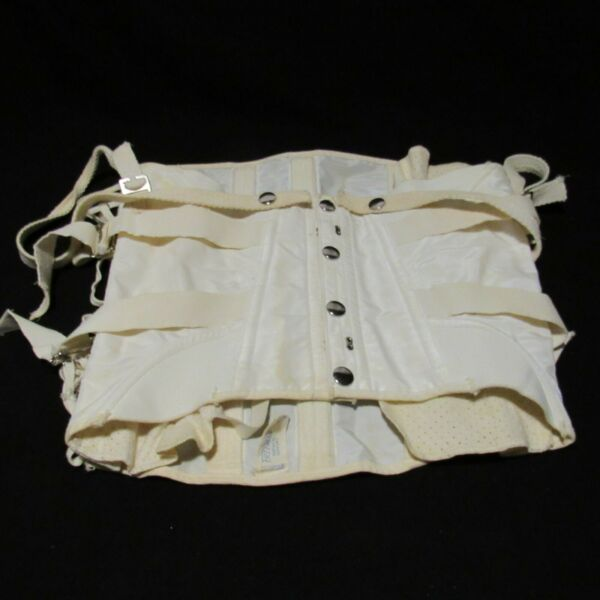 VINTAGE CORSET SURGICAL SUPPORT GIRDLE BONE SIZE 34 FREEMAN STYLE 452