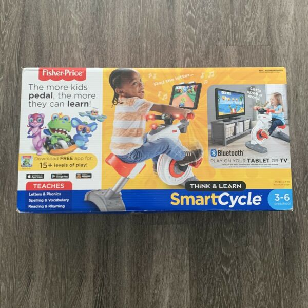 NEW Fisher Price Think amp; Learn Smart Cycle Bike Bluetooth Apple Android $179.99
