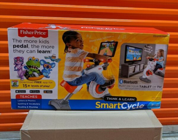 Fisher Price Think amp; Learn Smart Cycle Bike Bluetooth Apple Android Compatible $189.99