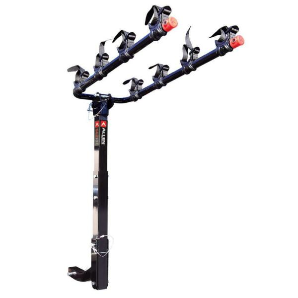 Allen Sports Deluxe Hitch Mounted Bike Rack Locking 4 Bike 2quot; Hitch $140.00