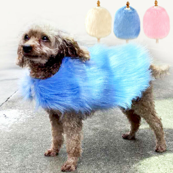 Cute Luxury Dog Clothes Winter Dog Coat Warm Fleece Jacket for Small Medium Dogs $14.99