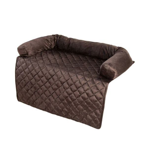PETMAKER Furniture Protector Pet Cover with Bolster Collection Brown 35quot; X 35quot; $39.99