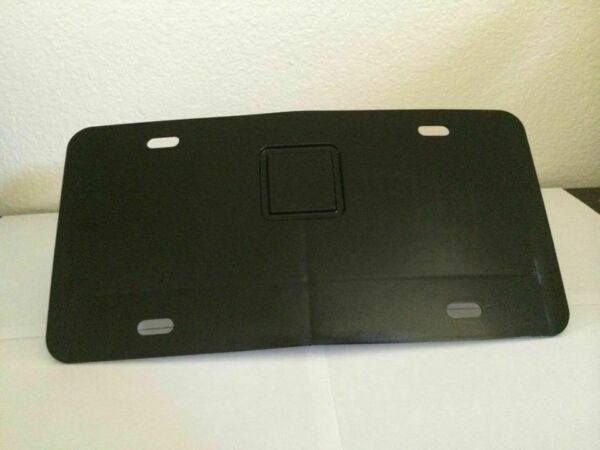 LICENSE PLATE NOVELTY PLATE HOLDER FOR 2quot; HITCH RECEIVER BRACKET $24.99