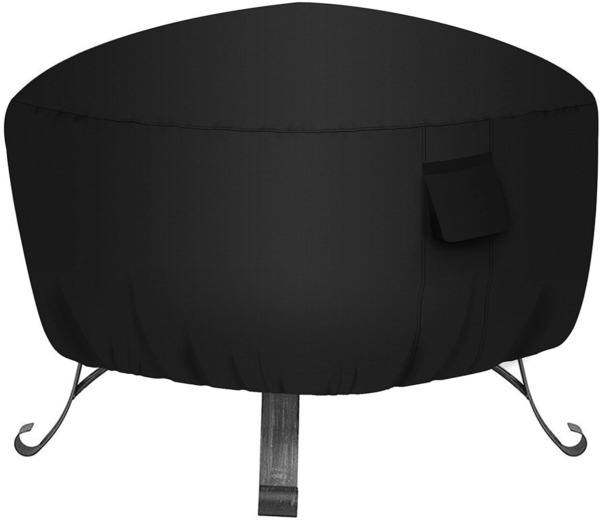 32quot; Patio Round Fire Pit Cover Weather Resistant amp; Waterproof Outdoor Protector $18.50