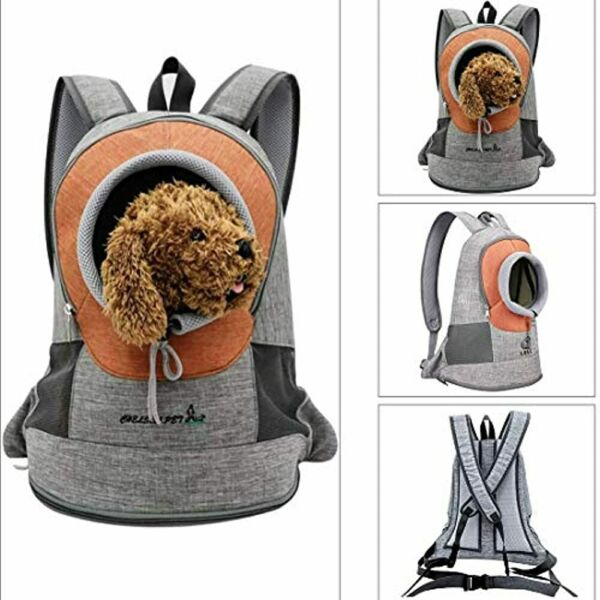 Companet Pet Carrier Backpack Dog Carriers Chest Bag Front Shouder Pack Head $32.99