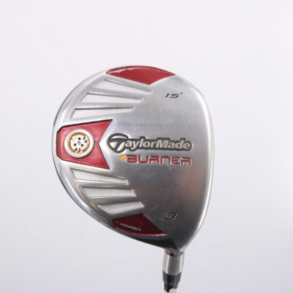 TaylorMade Burner 3 Fairway Wood 15 Degrees REAX 50 M Senior Right Handed 73617W