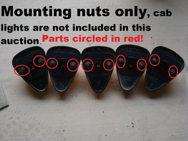 Cab Light MOUNTING NUTS for OEM Ford Super Duty F250 F350 Roof Marker clearance
