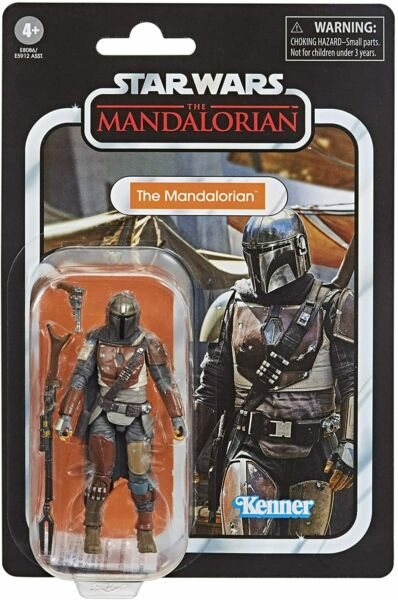 STAR WARS vintage MANDALORIAN ACTION FIGURE 3.75quot; IN STOCK