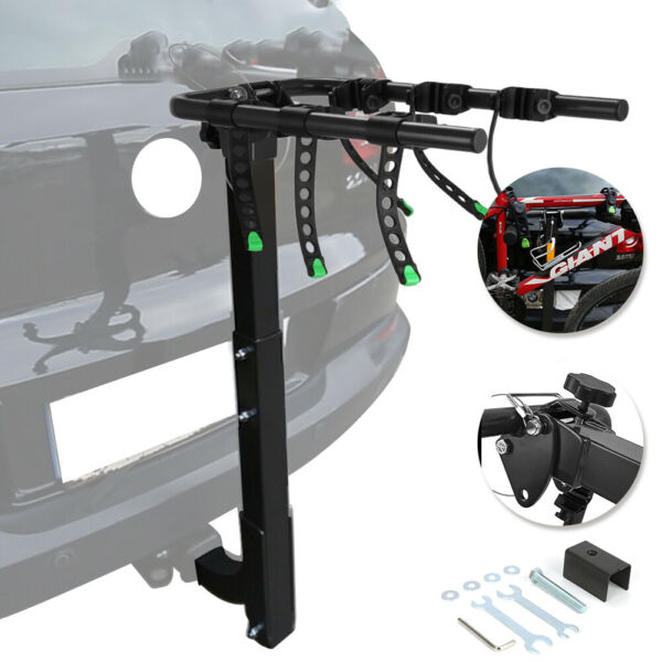 3 Bike Carrier Rack Hitch Mount Premium Swing Down Bicycle Rack W 2quot; Receiver $83.74