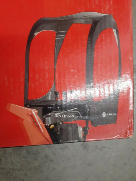Ariens 2 stage sno thro cab kit fits any 2 stage snow blowerno drilling install