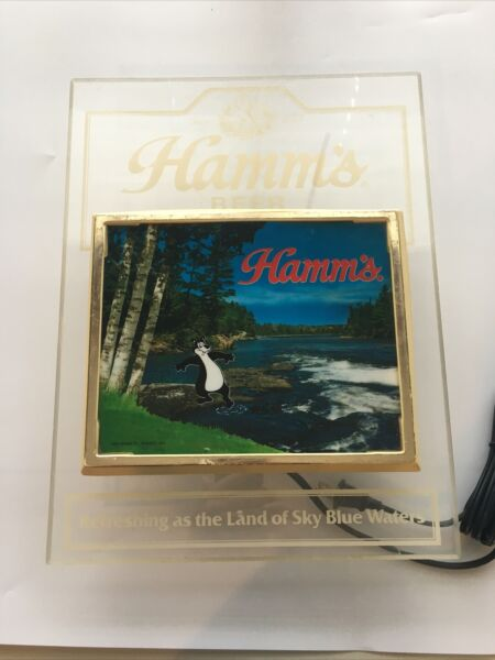 Hamms Beer Lighted Sign