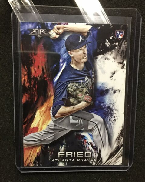 Max Fried Rookie 2018 Topps Fire 28 Braves RC