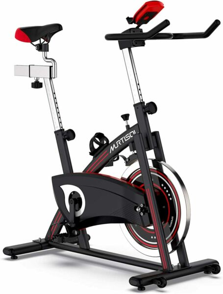 Stationary Exercise Spin Bike Indoor Cycling Bicycle Magnetic Resistance Control $254.99