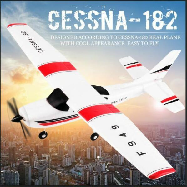 Park10 F949G 3Ch RC Airplane Fixed Wing Plane Outdoor toys with 2.4G Transmitter $63.99