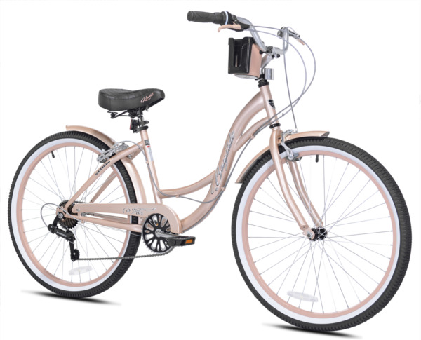 Kent 26quot; Bayside Women#x27;s Cruiser Bike Rose Gold $209.99