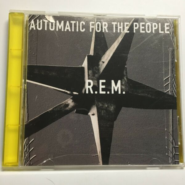 R.E.M.–Automatic For The People CD1992Warner W2 45055EARLY PRESSYELLOW TRAY $7.97