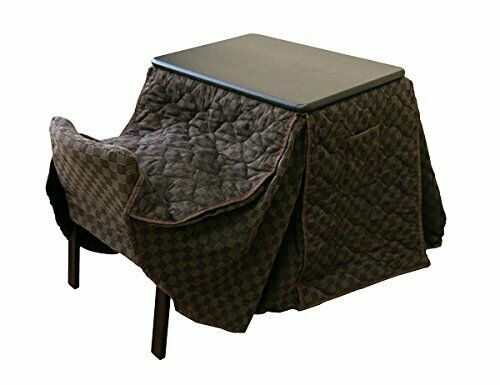 Table Heater Foot Warmer Square Kotatsu Futon Cover desk chair set 3 Sakabe