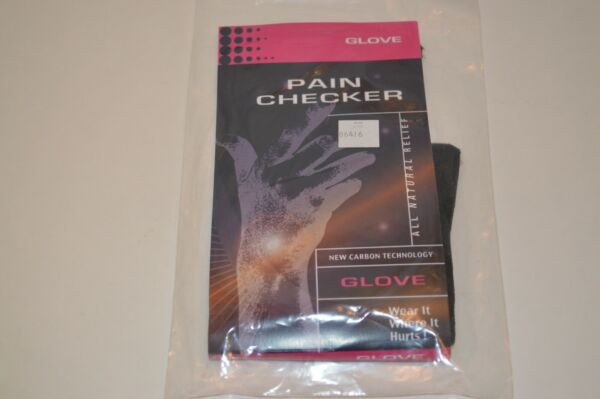 Pain Checker Glove All Natural Releif New Carbon Technology New $14.98