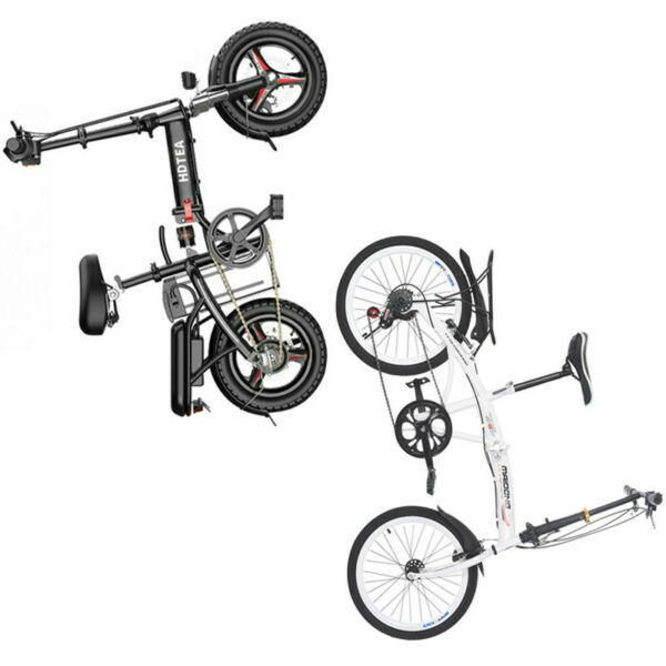 14in 250W Folding Electric Bike 20in 7 Speed City Bike For Adult And Teenager $128.50