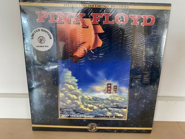 PINK FLOYD DEEP SPACE OAKLAND NEW SEALED 3LP LIMITED NUMBERED COLORED VINYL