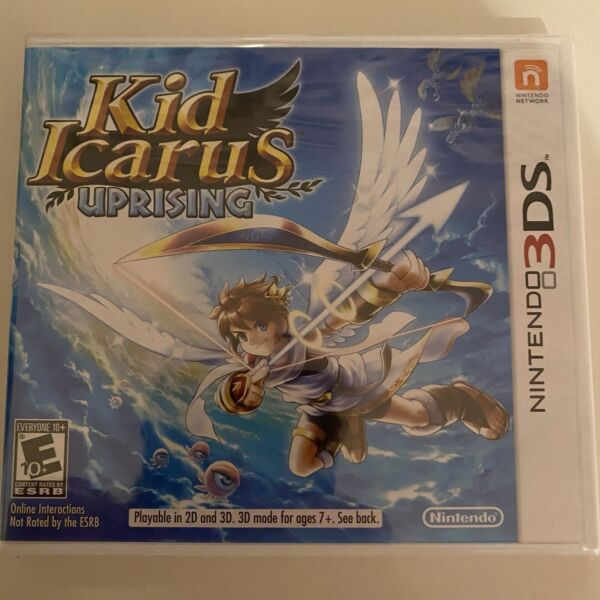 Kid Icarus: Uprising Nintendo 3DS 2012 New Factory Sealed
