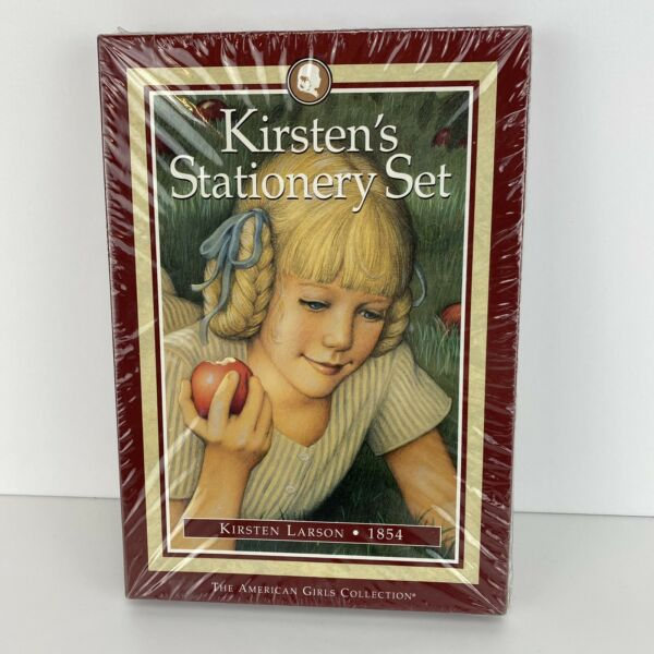 New Sealed American Girl KIRSTEN#x27;S Stationery Set Stationary Pleasant Co 1996