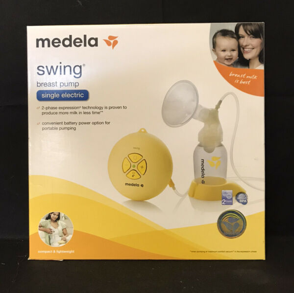 "Medela Swing Single Electric Breast Pump ""NEW"""