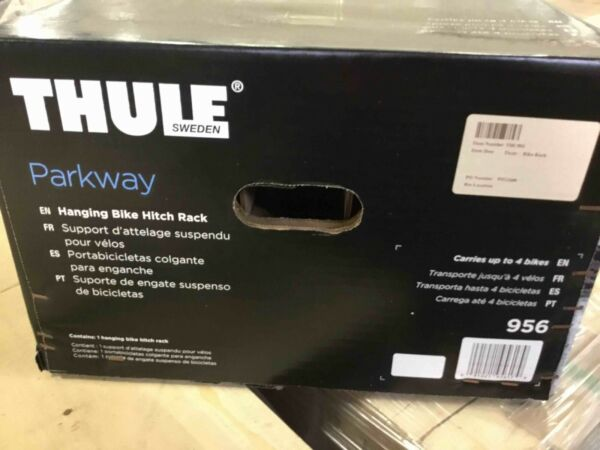 Thule 956 Parkway 4 Bike Hitch Mount Rack 2 Inch Receiver NEW IN BOX $299.94