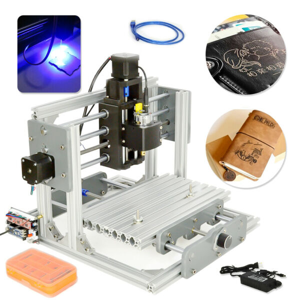 Engraver CNC Router PCB Metal Desktop DIY Mini Engraving Milling Machine 2417 HQ $179.72