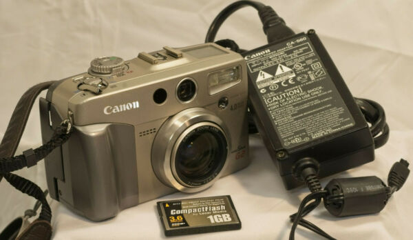 Canon PowerShot G2 Infrared Converted 3X Power Zoom