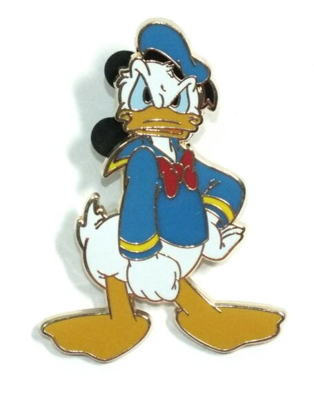 Disney Pin Trading Donald Duck Angry Mad Pose Disneyland Resort Paris Mickey $4.00