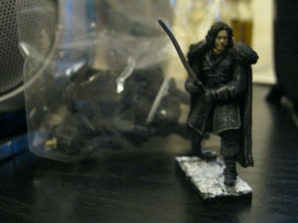 Mcfarlane construction figure Game of Thrones John Snow x 2