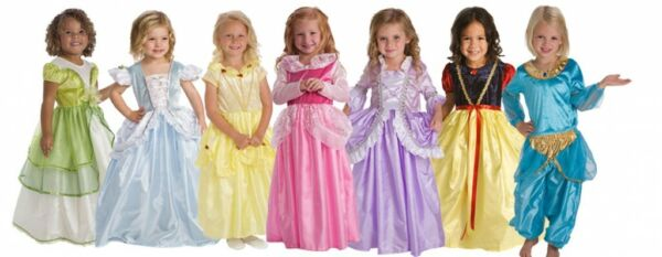 Little Adventures Disney Inspired Princess Dresses Size Small 1 3 yrs $20.00