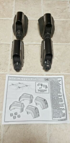 4 YAKIMA LowRider Roof Rack Towers used condition free shipping $50.00
