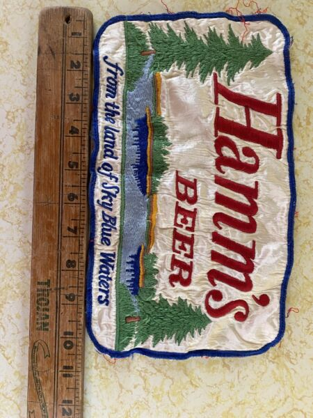 3 Vintage Hamms Beer Patches