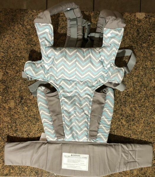 QB Carrier 4 in 1 carrier Infant Toddler Carrier with hood Grey $22.98
