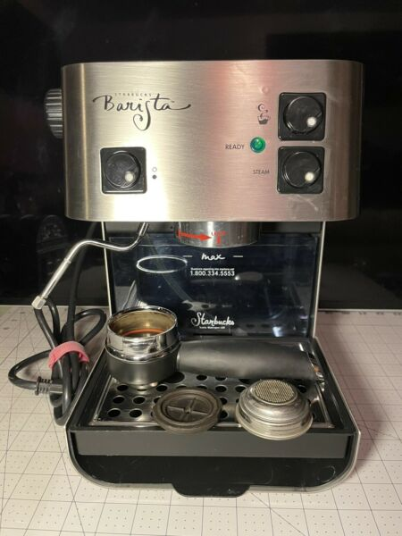 Starbucks Barista Saeco espresso Coffee machine stainless steel Made in Italy