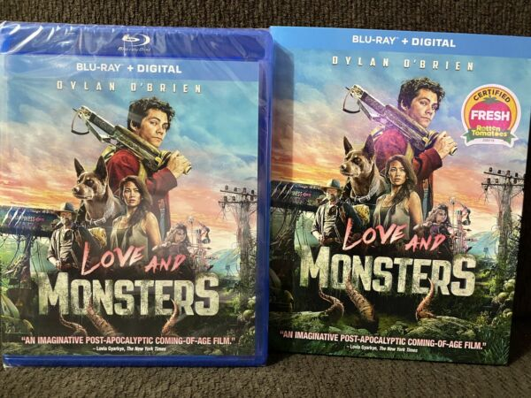 Love And Monsters Blu Ray Digital $14.99